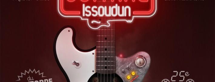 Festival Guitare Issoudun - Affiche 2013