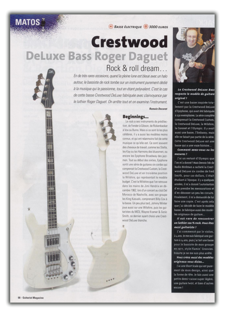 Article Crestwood Bass - Page 1